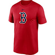 Nike Men's Boston Red Sox Red Large Logo Legend Dri-FIT T-Shirt