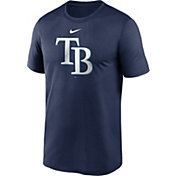 Nike Men's Tampa Bay Rays Navy Large Logo Legend Dri-FIT T-Shirt