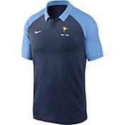 Nike Men's Tampa Bay Rays Navy Dri-FIT Legacy Raglan Polo