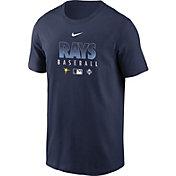 Nike Men's Tampa Bay Rays Navy Dri-FIT Baseball T-Shirt