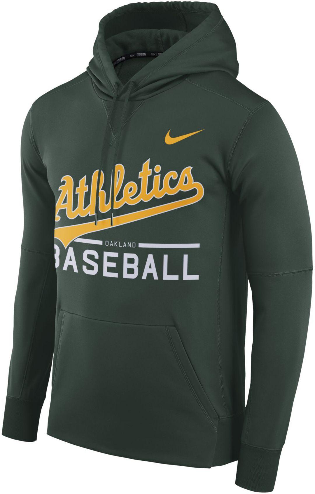 huge discount ceabc 0b476 Nike Men's Oakland Athletics Pullover Hoodie