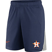Nike Men's Houston Astros Navy Logo Franchise Performance Shorts