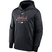 Nike Men's Detroit Tigers Navy Dri-FIT Therma Pullover Hoodie