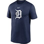Nike Men's Detroit Tigers Navy Large Logo Legend Dri-FIT T-Shirt
