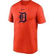 Nike Men's Detroit Tigers Orange Large Logo Legend Dri-FIT T-Shirt