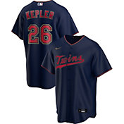 Nike Men's Replica Minnesota Twins Max Kepler #26 Navy Cool Base Jersey