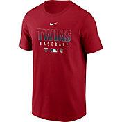 Nike Men's Minnesota Twins Red Dri-FIT Baseball T-Shirt