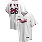 Nike Men's Replica Minnesota Twins Max Kepler #26 White Cool Base Jersey