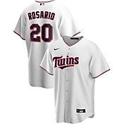 Nike Men's Replica Minnesota Twins Eddie Rosario #20 White Cool Base Jersey