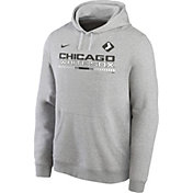 Nike Men's Chicago White Sox Grey Color Bar Club Pullover Hoodie