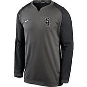 Nike Men's Chicago White Sox Grey Dri-FIT Thermal Crew T-Shirt