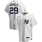 Nike Men's Replica New York Yankees Gio Urshela #29 White Cool Base Jersey