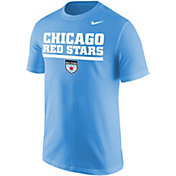 Nike Men's Chicago Red Stars Wordmark Blue T-Shirt