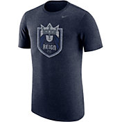 Nike Men's Seattle Reign Primary Logo Navy Tri-Blend T-Shirt