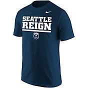 Nike Men's Seattle Reign Wordmark Navy T-Shirt