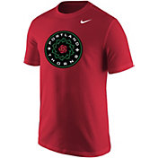 Nike Men's Portland Thorns Primary Logo Red Tri-Blend T-Shirt