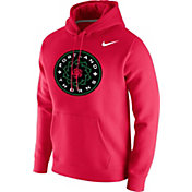 Nike Men's Portland Thorns Wordmark Red Pullover Hoodie