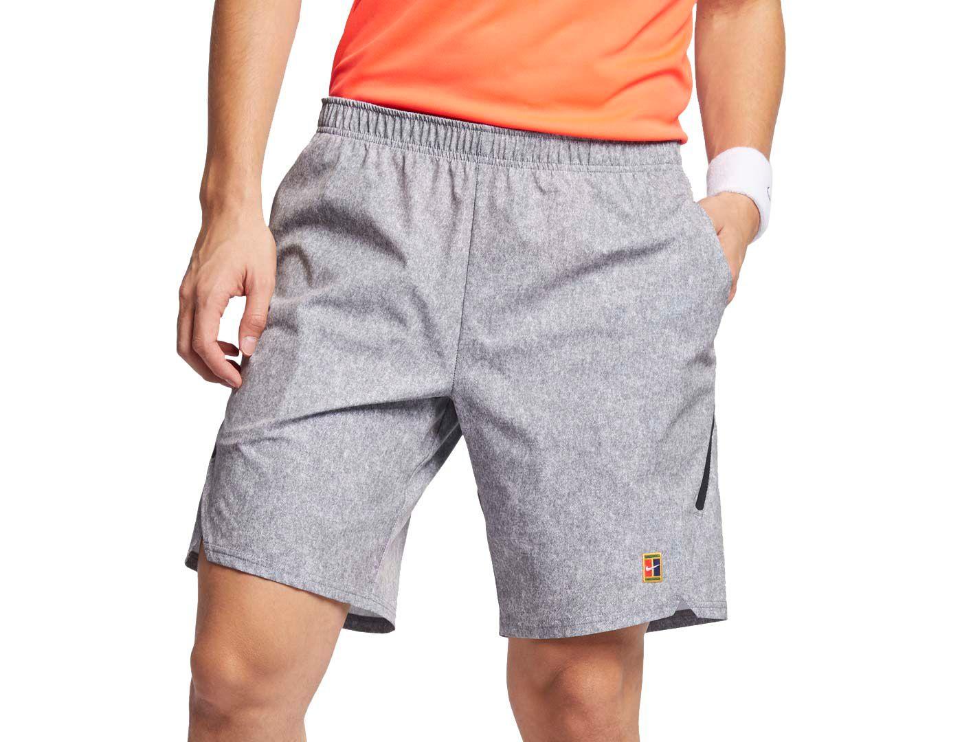 Nike Men's NikeCourt Flex Ace Printed Tennis Shorts