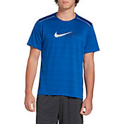 Nike Men's Dri-FIT Miler Short Sleeve Running Top