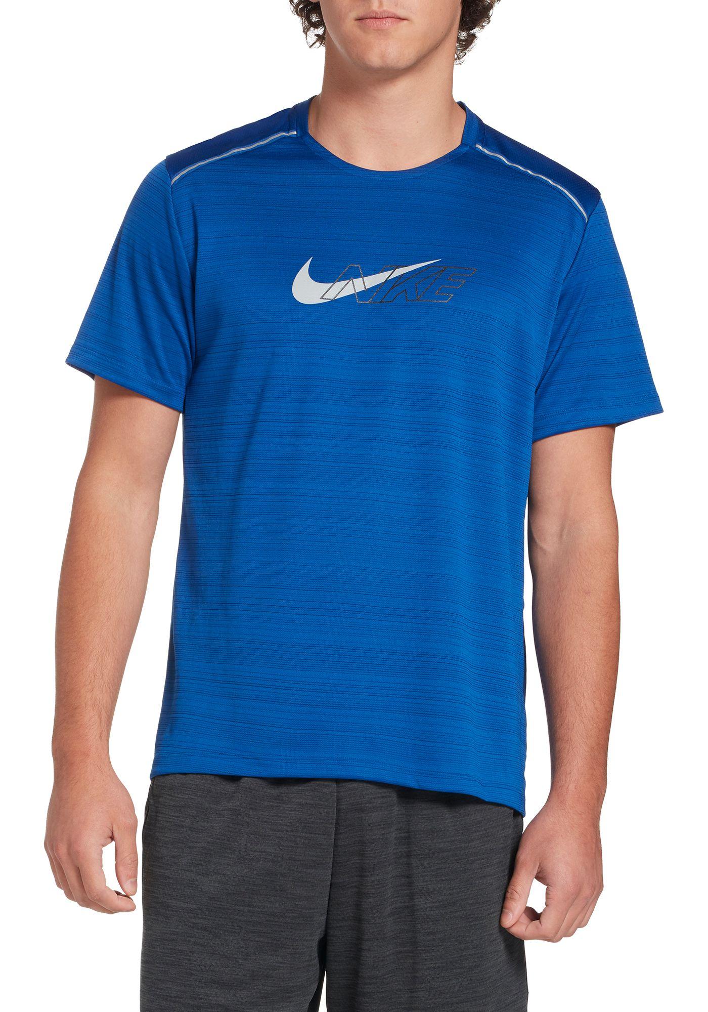 Nike Men's Dri-FIT Miler Short Sleeve Running Top