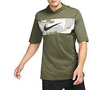 Nike Men's Short Sleeve Training Hoodie