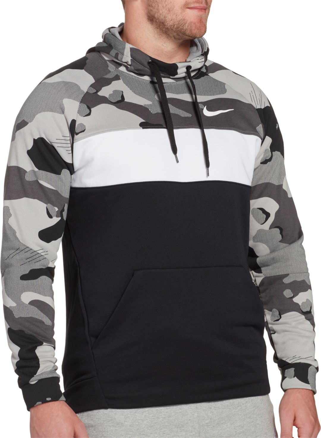 d805e2bdcb Nike Men's Dri-FIT Training Pullover Hoodie