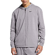 Nike Men's Dri-FIT Yoga Training Full Zip Hoodie