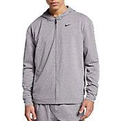 Nike Men's Dri-FIT Yoga Training Full Zip Hoodie
