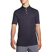 Nike Men's Plaid Player Golf Polo