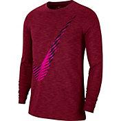 Nike Men's Swoosh Training Long Sleeve Shirt