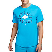 Nike Men's Dri-FIT Flamingo Leg Day Graphic Tee