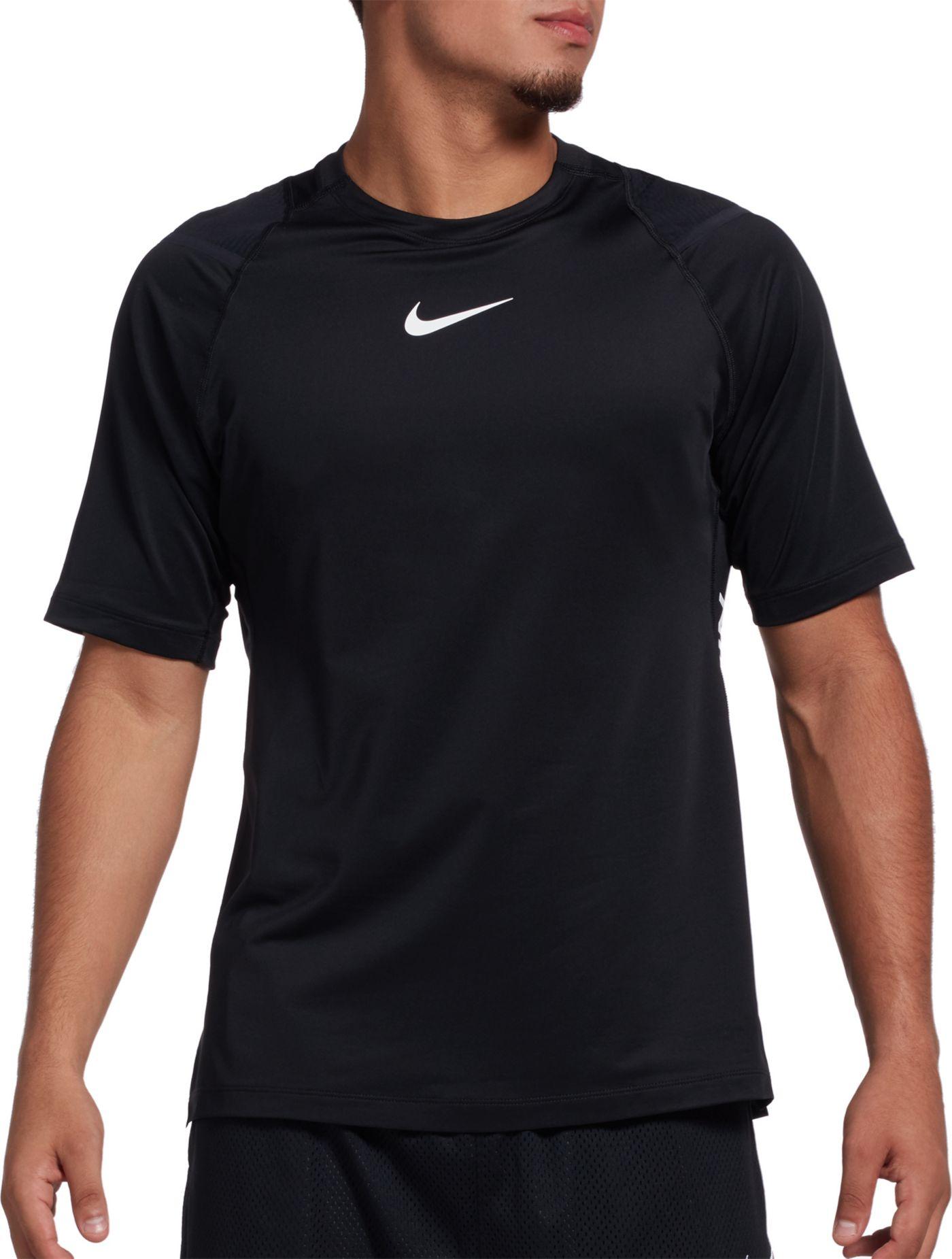 Nike Men's AeroAdapt Training Short Sleeve Top