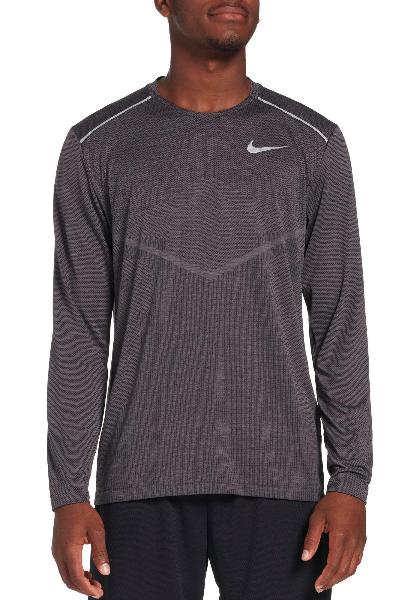 Nike Men's TechKnit Ultra Running Long Sleeve Shirt