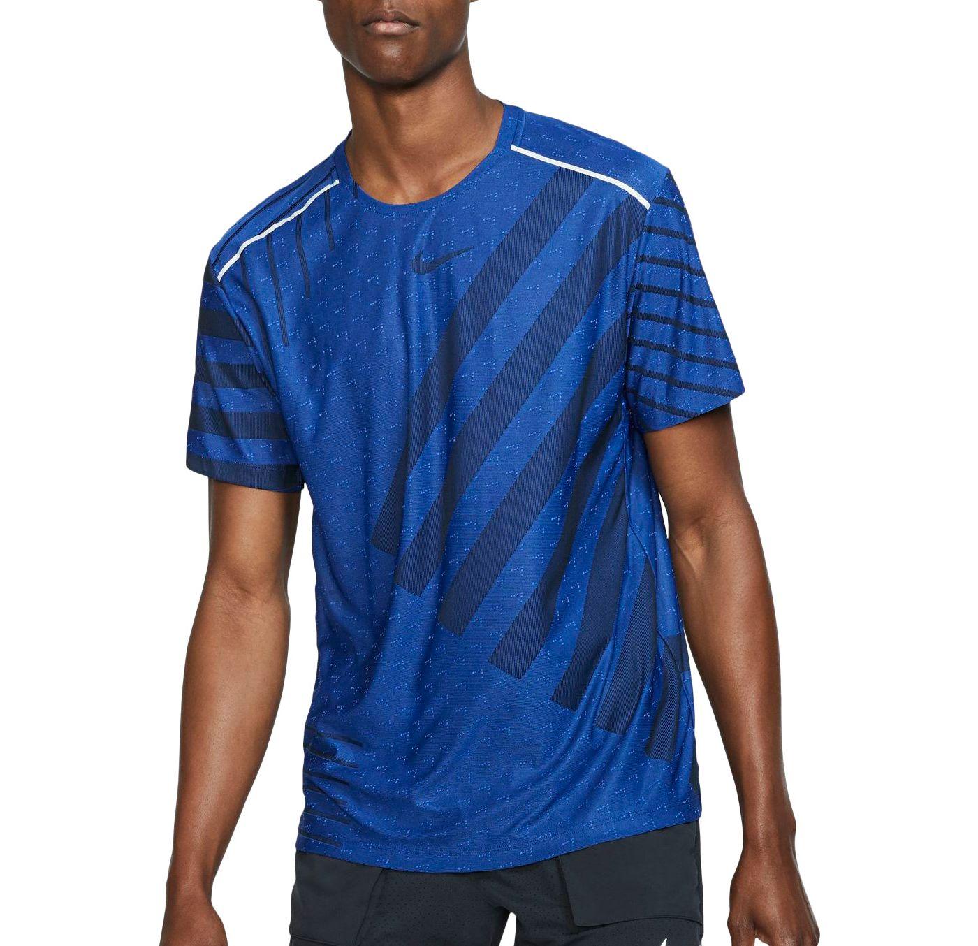Nike Men's TechKnit Ultra Short Sleeve Running Top