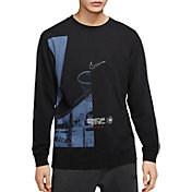 Nike Men's DNA Basketball Chicago Graphic Long Sleeve Shirt