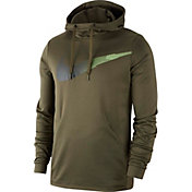 Nike Men's Therma Pullover Hoodie in Cargo Khaki