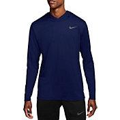 Nike Men's Hyper Dry Hooded Long Sleeve Shirt
