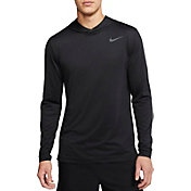 Nike Men's Hyper Dry Hooded Long Sleeve Shirt