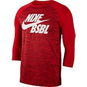 Nike Men's Velocity Legend 3/4 Sleeve Baseball Top