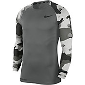 Nike Men's Pro Camo Slim Long-Sleeve Shirt