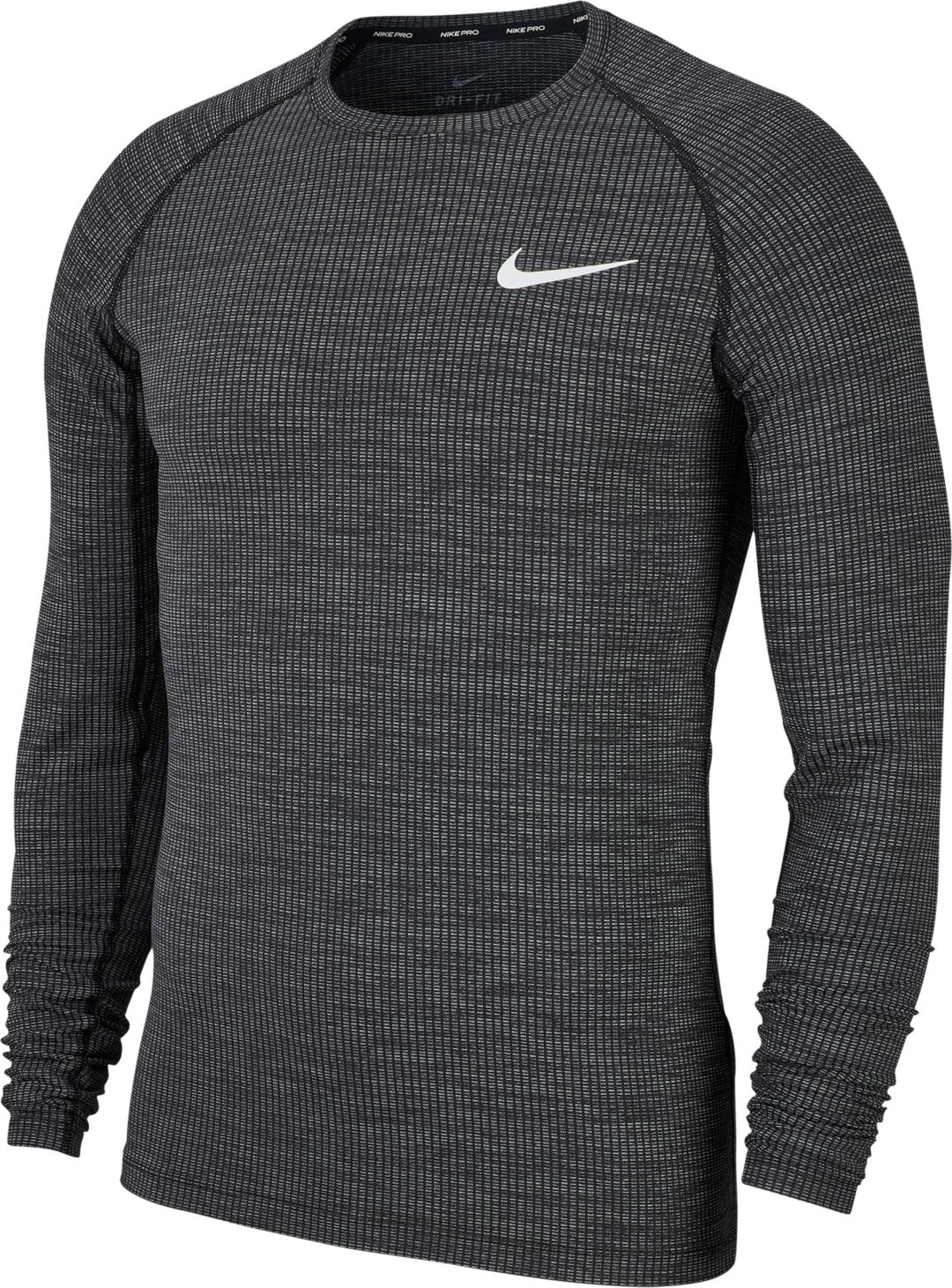 really cheap special section latest fashion Nike Men's Pro Fitted Long Sleeve Shirt