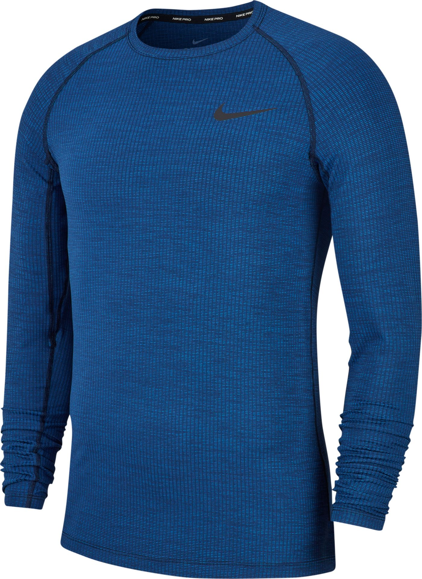 Nike Men's Pro Fitted Long Sleeve Shirt