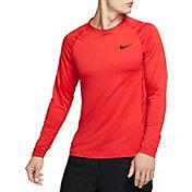 Nike Men's Pro Slim Fit Long Sleeve Shirt