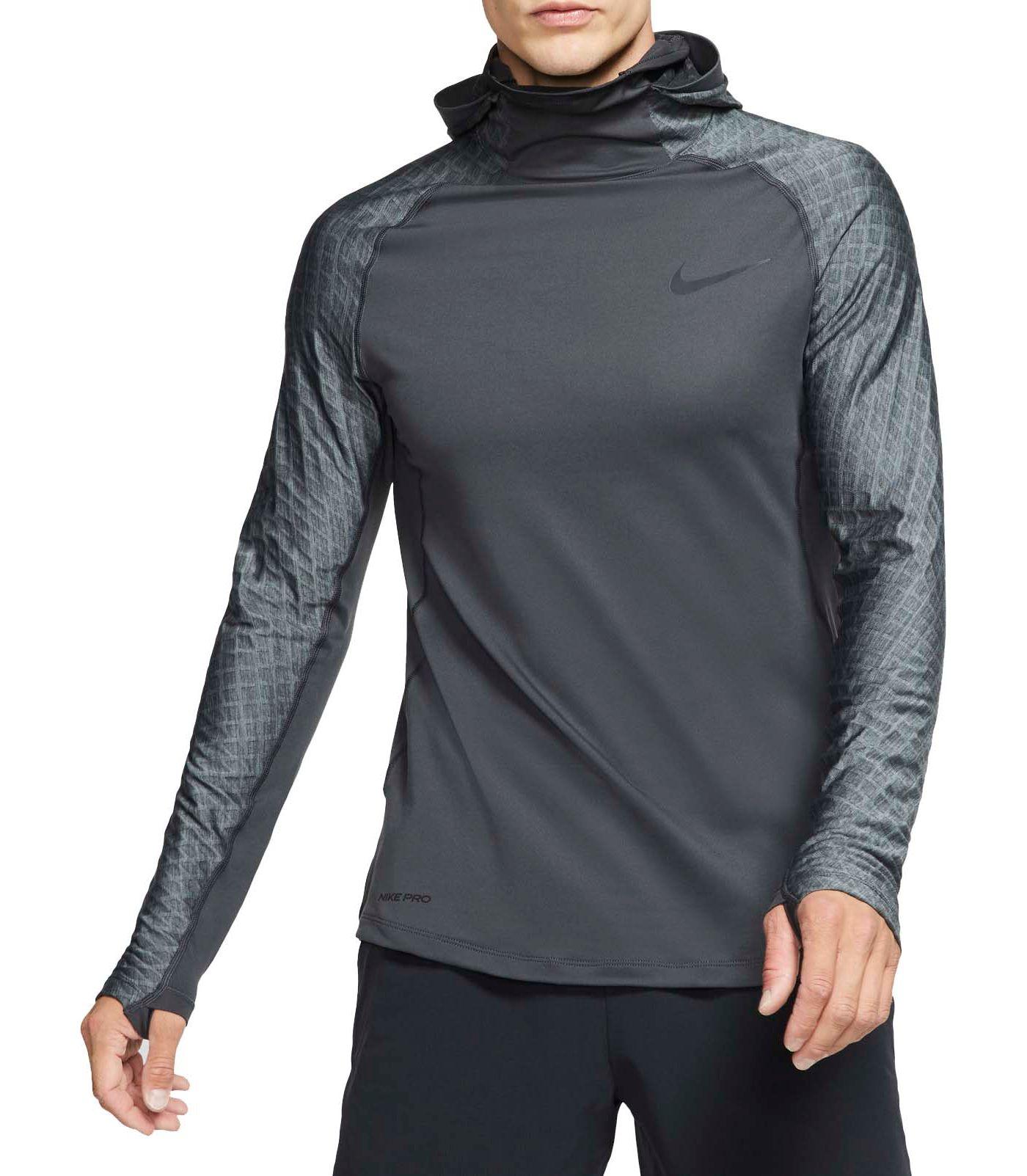 Nike Men's Pro Utility Therma Long Sleeve Shirt