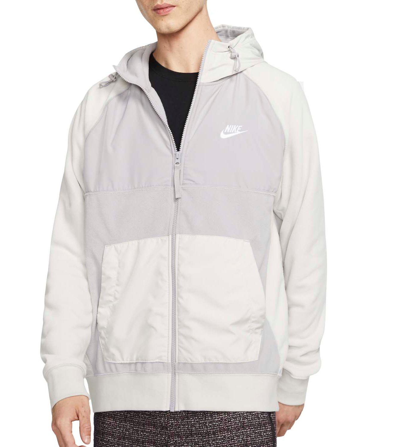 Nike Men's Sportswear Full-Zip Fleece Hoodie