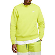 Nike Men's Sportswear Club Crewneck Pullover (Regular and Big & Tall)