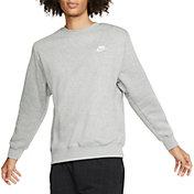 Nike Men's Sportswear Club Crewneck Pullover (Regular and Big & Tall)