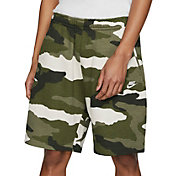 Nike Men's Sportswear Club Fleece Camo Shorts