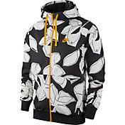 Nike Men's Sportswear Club Floral Full Zip Hoodie