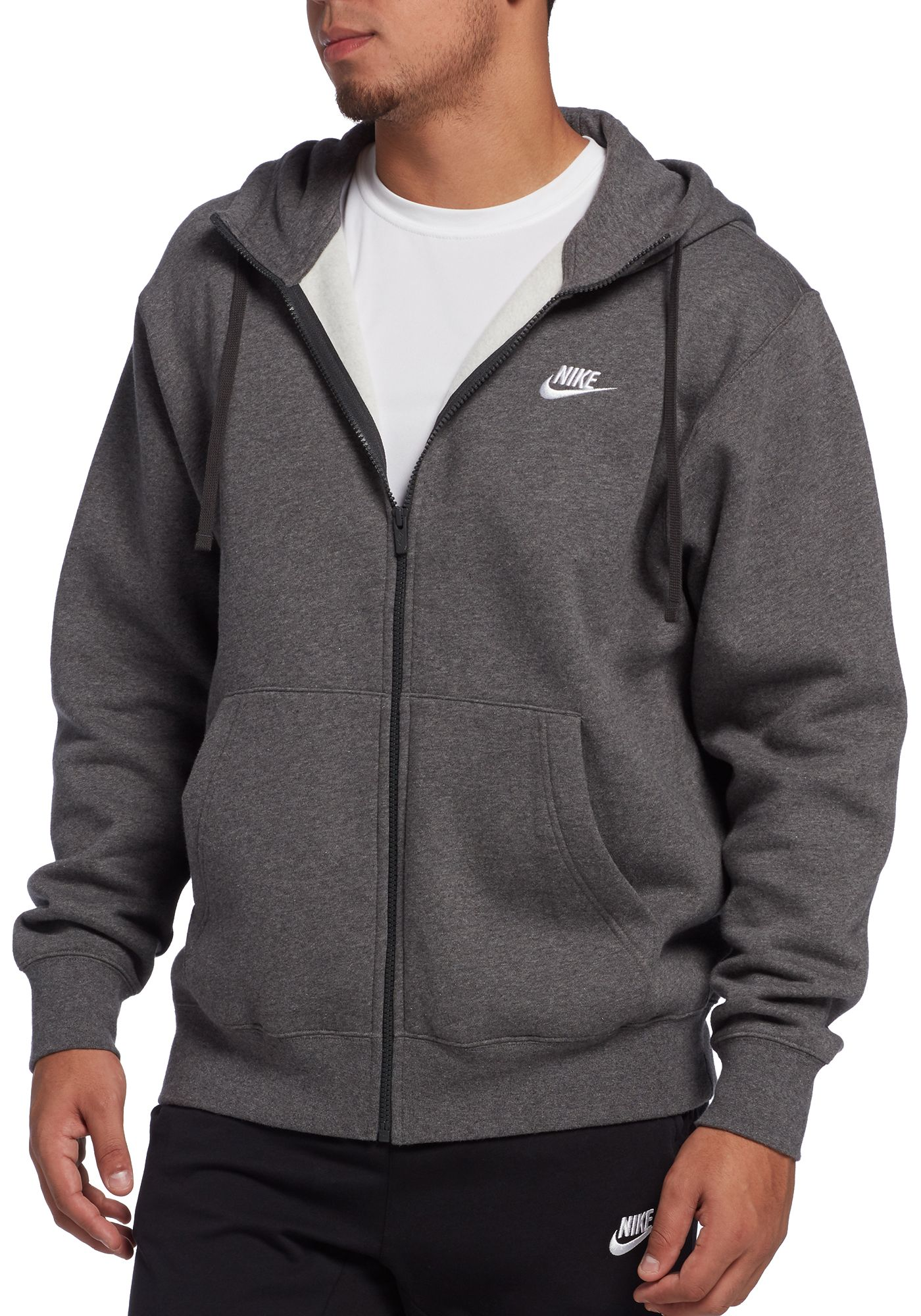 Nike Men's Sportswear Club Fleece Hoodie (Regular and Big & Tall)